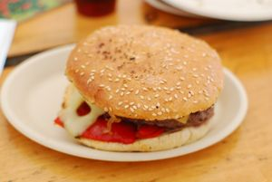 Burger angus vacherin