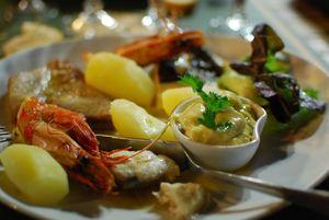 Castellu assiette pêcheur